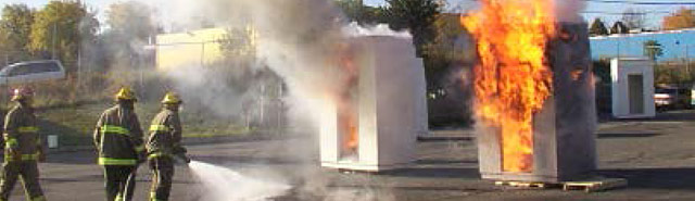 Clean Rooms Plus  Firefree 88® (FF88) fire-resistant barrier